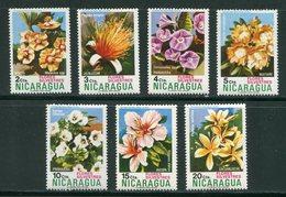 NICARAGUA- Y&T N°962 à 968- Neufs Sans Charnière ** (fleurs) - Nicaragua