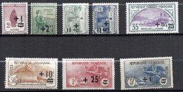 Col11  France Orphelins N° 162 à 169 Neuf X MH Cote  255,00 Euros - Neufs