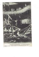 Cpa Militaria - MEZIERES CHARLEVILLE - Intérieur Théâtre Après Départ Des Allemands 1918 - Ruines - Oorlog 1914-18