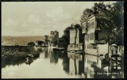 Ref 1259 - Real Photo Postcard - Eaux Douces D'Asia - Constantinople Turkey - Turkey