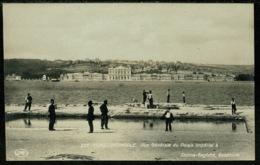 Ref 1259 - Real Photo Postcard - Vue Generale Du Palais Imperial - Constantinople Turkey - Turkey