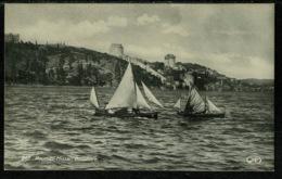 Ref 1259 - Early Real Photo Postcard - Roumeli-Hissar Bosphore - Constantinople Turkey - Turkey