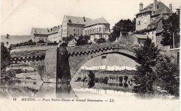 MENDE  -  Pont Notre-Dame Et Grand Séminaire - Mende