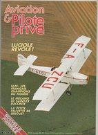 Revue Aviation Et Pilote N°141 Octobre 1985 - ULM Les Français Champion Du Monde - Le Mécano De Saint-Exupéry... - Aviation