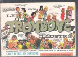 """Supplément Au Spirou N° 2060 """" Le Trombone Illustré """" - Spirou Magazine"""