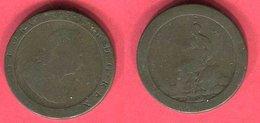 § 1/2 PENNY GEORGE B 5 - Cambodge