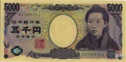 Japan 5000 Yen (P105b) (Pref: GV) -UNC- - Japon