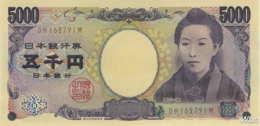 Japan 5000 Yen (P105b) (Pref: DH) -UNC- - Japon
