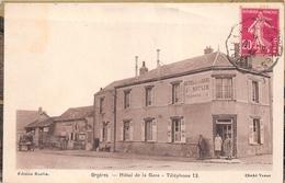 """¤¤  -   ORGERES    -  Hôtel De La Gare """" J. ROULIN """"     -  ¤¤ - Autres Communes"""