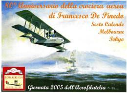 [MD2528] CPM - AEREI - GIORNATA 2005 DELL'AREOFILATELIA - ROMA - NV - Aerei