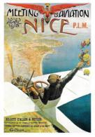[MD2538] CPM - RIPRODUZIONE - AEREI - MEETING D'AVIATION NICE P.L.M. 1910 - Non Viaggiata - ....-1914: Precursori