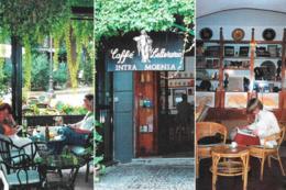 [MD2540] CPM - NAPOLI - PUBBLICITARIA - CAFFE' LETTERARIO INTRA MOENIA - PIAZZA BELLINI - Non Viaggiata - Napoli