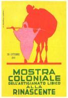[MD2544] CPM - RIPRODUZIONE - MARCELLO DUDOVICH 1938 ROMA MOSTRA COLONIALE DELL'ARTIGIANATO LIBICO - Non Viaggiata - Illustratori & Fotografie