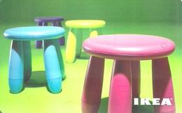 IKEA * FURNITURE STORE * SWEDEN * SWEDISH * CHILDREN CHAIR * STOOL * Ikea 2009 09 Ch A * Switzerland - Gift Cards
