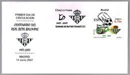CENTENARIO DEL BETIS - CENTENARY OF BETIS. Futbol - Football. SPD/FDC Madrid 2007 - Equipos Famosos