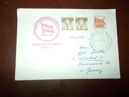 B659   Germania Ddr Poseidon Lines - FDC: Enveloppes