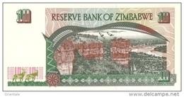 ZIMBABWE  P. 6 10 D 1997 UNC - Zimbabwe