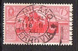 ITALIE ( POSTE ) : Y&T N° 268  TIMBRE  BIEN  OBLITERE , A  VOIR . - 1900-44 Victor Emmanuel III