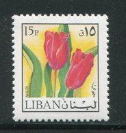 LIBAN- Y&T N°636- Neuf Sans Charnière ** (fleurs- Tulipes) - Liban