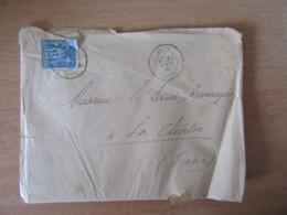 France - Enveloppe Avec 3 Documents Dont Chambre Des Députés Datée Du 15 Août 1884 - Timbre Sage 15c + Oblitérations - Documents Historiques