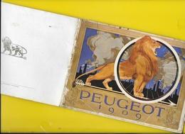 """Catalogue 1909 Cycles & Motos """"PEUGEOT"""" Beaucoup De Photos 64 Pages + Couverture Format Italienne 20 X 14 Cm Env.. - Cyclisme"""