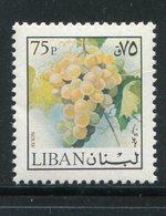 LIBAN- Y&T N°638- Neuf Sans Charnière ** (fruits- Raisin) - Liban