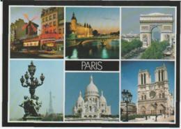 Postcard - Les Monuments De Paris  - Unused Very Good - Unclassified