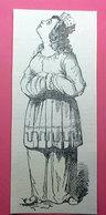 CARTOON IMMAGINE DA CARTACEO D'EPOCA PICTURE OF VINTAGE PAPER - Victorian Die-cuts