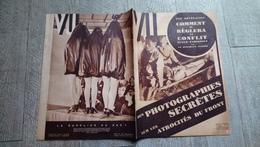 Revue Vu 1936 Conflit Italie Ethiopie Aviation  Cinéma Politique - Books, Magazines, Comics