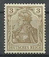 Allemagne - Année 1902-04 - Y & T N° 67 * TB   Voir Scan Verso - Allemagne