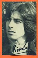 Ringo - Carte Postale Dedicacee? - 2 Scans - Zangers En Musicus