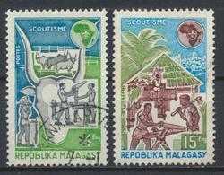 °°° MADAGASCAR - Y&T N°538/39 - 1974 °°° - Madagascar (1960-...)