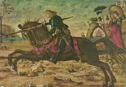 """Venezia (Veneto) Scuola Di San Giorgio Degli Schiavoni """"San Giorgio Uccide Il Drago"""" (partic.) Vittore Carpaccio - Venezia"""