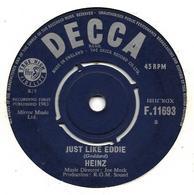 """Heinz   """"  Just Like Eddie  """" - Vinyles"""