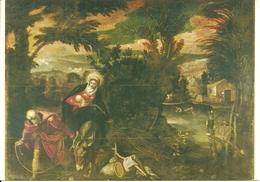 """Venezia (Veneto) Scuola Grande Di San Rocco """"La Fuga In Egitto"""" Tintoretto (Jacopo Robusti) - Venezia"""