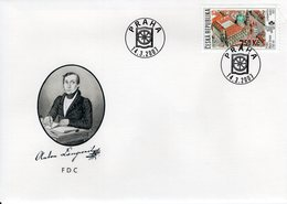 CZECH REPUBLIC  -    2007 International Stamp Exhibition PRAGA 2008  FDC5880 - FDC