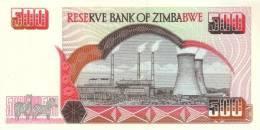 ZIMBABWE P. 10 500 D 2001 UNC - Zimbabwe