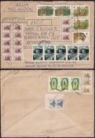 Russie - 1995 - Lettre - Timbres Diverse - WWF - Envoyé En Argentine - 1992-.... Federación