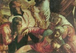 """Venezia (Veneto) Scuola Grande Di San Rocco """"La Crocifissione"""" (partic.) Tintoretto (Jacopo Robusti) - Venezia"""