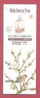 F- Carte à Sprayer  L'Occitane - Wild Cherry Tree-  Perfume Card - Japon - Cartes Parfumées
