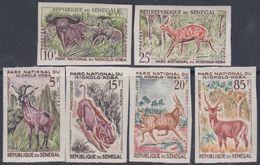 Sénégal  N° 198 / 203  Nd XX Parc National De Niokolo, La Série Des 6 Valeurs Sans Charnière Non Dentelée,  TB - Sénégal (1960-...)