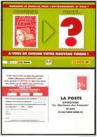 PAP Entier Postal Luquet RF  Carte Concours Opération La Marianne Des Français Salon Du Timbre 2004 - Ganzsachen