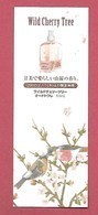 F- Carte à Sprayer  L'Occitane - Wild Cherry Tree-  Perfume Card - Japon - Perfume Cards