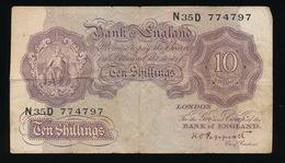 TEN SHILLINGS    2 SCANS - …-1952 : Before Elizabeth II
