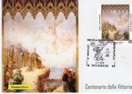 Asiago (VI)  3.11. 2018 - Centenario Fine Della Grande Guerra 15 - 18 - - Guerra 1914-18