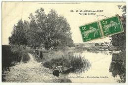 SAINT-AIGNAN-sur-CHER Paysage Du Cher  Ed Godeberge 108 - Saint Aignan