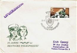 DDR / GDR - Mi-Nr 1579 FDC (S765) - FDC: Enveloppes