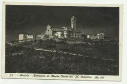 GORIZIA - SANTUARIO DI MONTE SANTO DAL M.SABOTINO -  VIAGGIATA FP - Gorizia