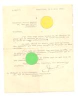 Guerre 14/18 - Document Daté De Mars 1919 Envoyé Au G.Q.G. Français ( Reconnaissance D'espionnage) VERVIERS  (b244) - 1914-18