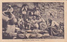 Chypre Phini Women Making Chatties Cyprus  Fabrication De Poteries - Chypre